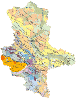 digitale Hydrogeologische Übersichtskarte