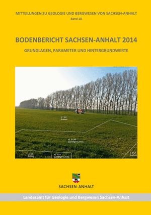 Abbildung: Titelseite Bodenbericht Sachsen-Anhalt 2014