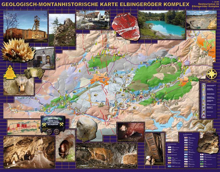 Vorschau Geologisch-montanhistorische Karte Elbingeröder Komplex
