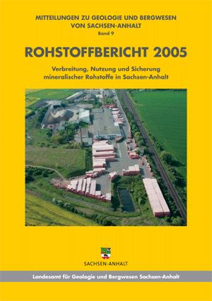 Abbildung: Titelseite Rohstoffbericht Sachsen-Anhalt 2005