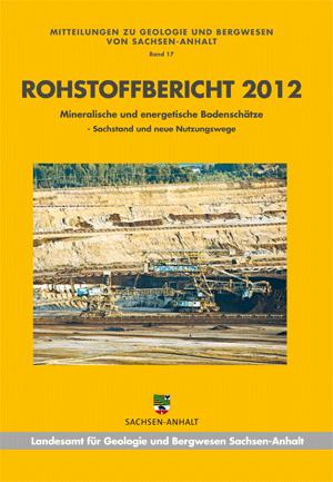 Abbildung: Titelseite Rohstoffbericht Sachsen-Anhalt 2012